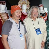 Минсалим и В.Батагай на форуме Красноярск, август 2017