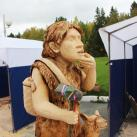 Фрагмент скульптуры-скамейки В.Алманова