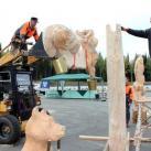 Монтаж  скульптуры