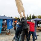 Подъем скульптуры