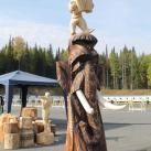 Скульптура В. Шустовских (Тобольск)