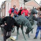Мастера-участники на экскурсии в Тобольске