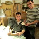 Ямальские студенты в мастерской
