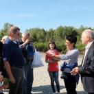 Делегацию приветствует зам.главы Администрации Уватского района В.Игнатченко