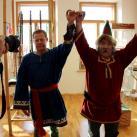 Джон и Минсалим проводят ритуал, посвященный Северным Богам