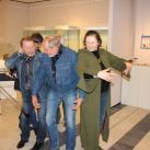 Художники-участники выставки изображают Мамонта