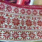 фрагмент старинной вышивки