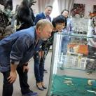 Сергей и Марина Лугинины на открытии выставки СИБИРия