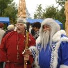 Минсалим с Ямальским Дедом Морозом