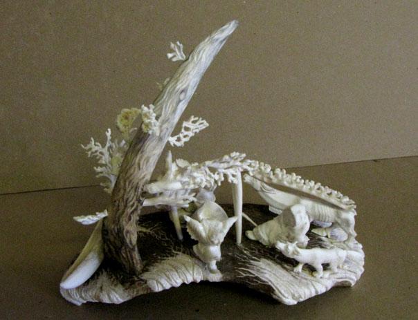 кость, лосиный рог