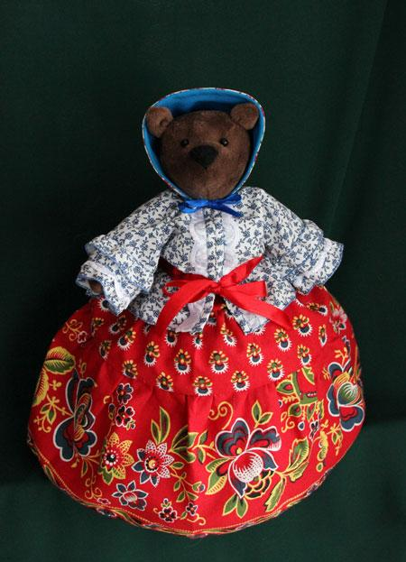 Кукла на чайник «Медведица Марьяна»