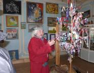 Дерево счастья в музее истории кости в доме мастера Минсалима