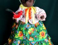 Кукла на чайник «Медведица Глафира»