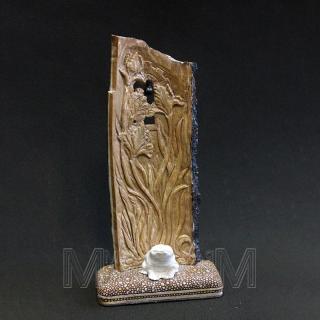 Скульптурная композиция «Ирисы», вид сзади