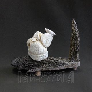 Скульптурная композиция «Камлание на здоровье»