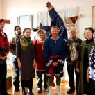 общее фото съемочной группы и сотрудников нашего музея