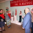 Сначала Василия и Ренато приняли в пионеры в Ялуторовском музейном комплексе