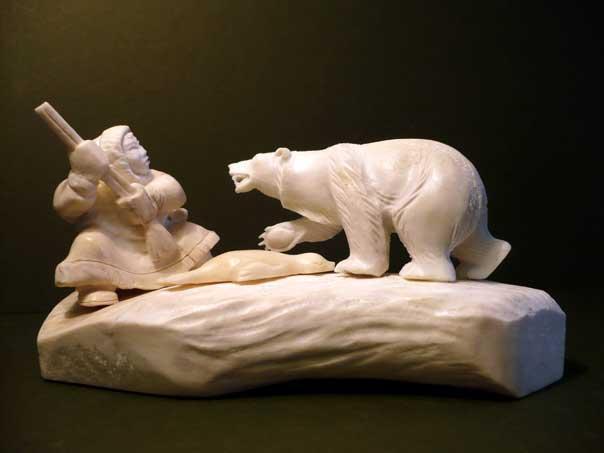Медведь и охотник